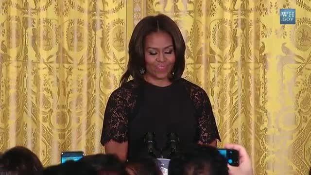Obama's Wife Celebrates Nowruz at the White House