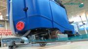 زمین شور سرنشین دار- نظافت ورزشگاه - کفساب خودرویی