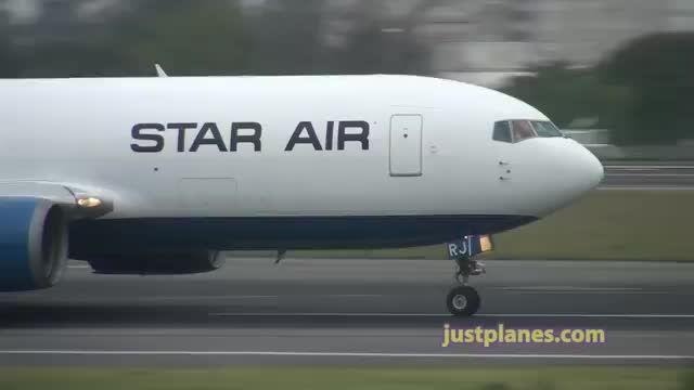 تیک آف بسیار کوتاه و زیبای B767 - دنیای مستند پرواز ✈