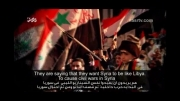 دولت و ملت سوریه را تنها نمیگذاریم