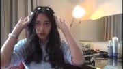 آموزش  بستن موی سر به سبک  مدل  یونانی!!