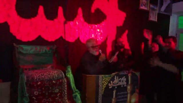 مداحی حاج صابری در شب چهارم محرم تکیه پرچینک