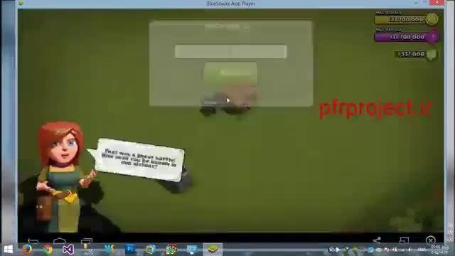 آموزش هک بازی کلش اف کلنز ورژن 7.156.4 کلن می رود