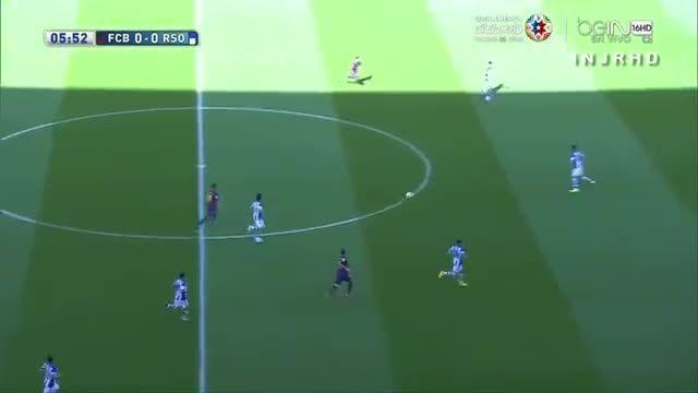هایلایت کامل لیونل مسی مقابل رئال سوسیداد