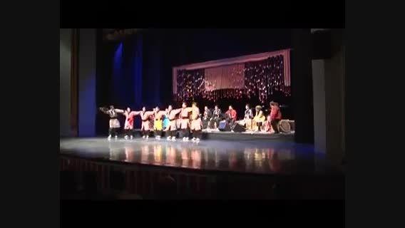 رقص لری در تالار وحدت تهران