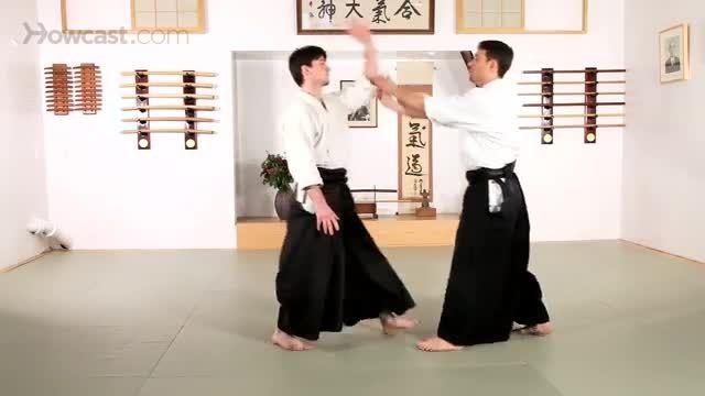 تکنیک گوکیو آیکیدو, تکنیک دفاع شخصی چاقو در آی کی دو