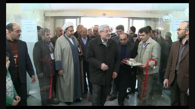 افتتاح و بازدید از غرفه های نمایشگاه مطبوعات و خبرگزاری