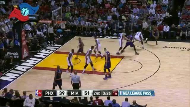 خلاصه بسکتبال : میامی 115 - 98 فونیکس