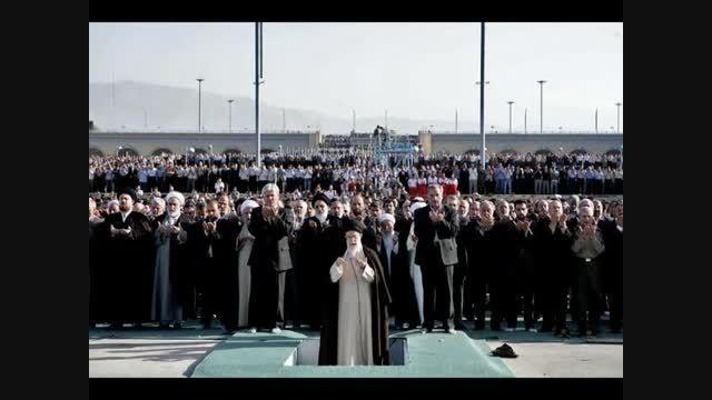 دعای قنوت عید فطر با صدای زیبای وزیر شعار آقای مرتضوی