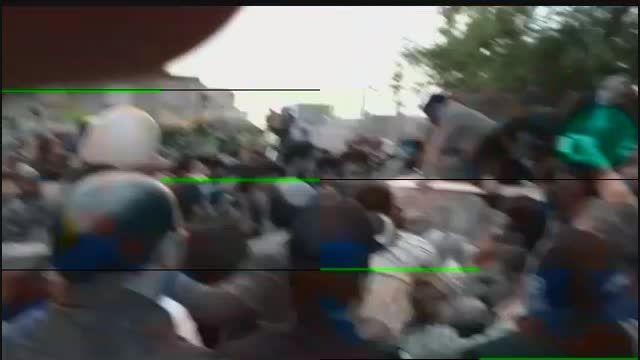 بدرقه دکتر احمدی نژاد در جشن نیمه شعبان - همدان (1)
