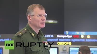 اتاف فرماندهی جنگنده بمب افکن های روسیه درجنگ با داعش