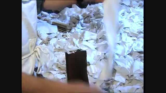 فرآیند سنتی تولید کاغذ