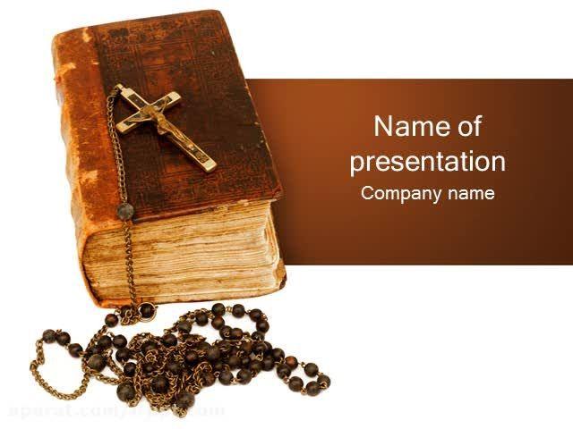 دانلود رایگان تم پاورپوینت Bible