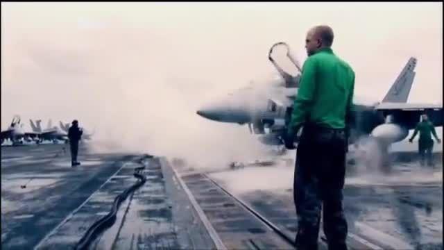 بزرگترین ناو هواپیمابر دنیا USS Nimitz
