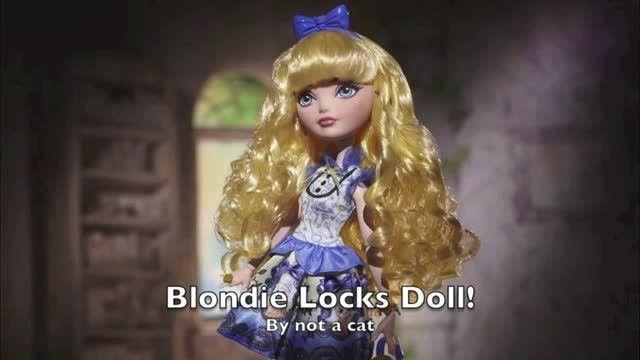 تبلیغ کامل عروسک بلاندی لاکس