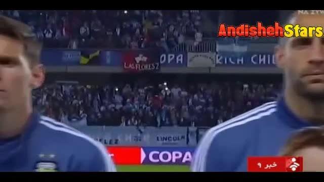 حواشی بازیهای آرژانتین در کوپا آمریکا 2015