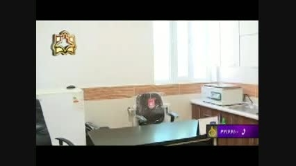 بخش خبری سیما - افتتاح درمانگاه میلاجرد- 5 اردیبهشت