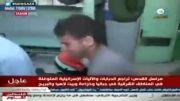 وداع جانسوز پدر فلسطینی با نوزاد ۱۰ ماهه