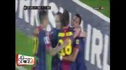 خلاصه بازی بارسلونا - رئال بتیس ( 4 - 2 )