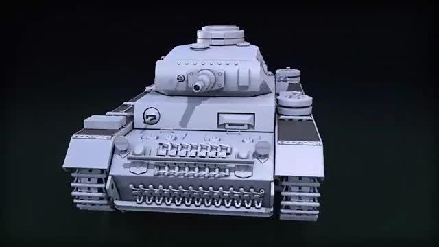 مدلسازی تانک در 3ds مکس
