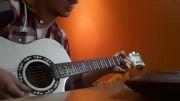 گیتار نوازی آهنگ Cheri cheri lady  مدرن تاکینگ