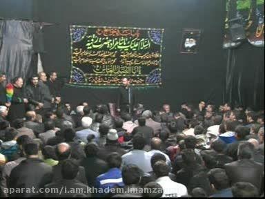 مداحی کربلایی حسین ادیبی و حاج محمد باقر منصوری