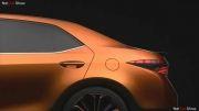 رونمایی رسمی تویوتا کرولا(Toyota Corolla Furia Concept (2014