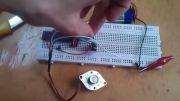 پروژه AVR موتور پله ای - نیم پله ای