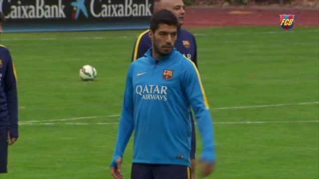 تمرینات بارسلونا در سانفرانسیسکو (2015.07.23)