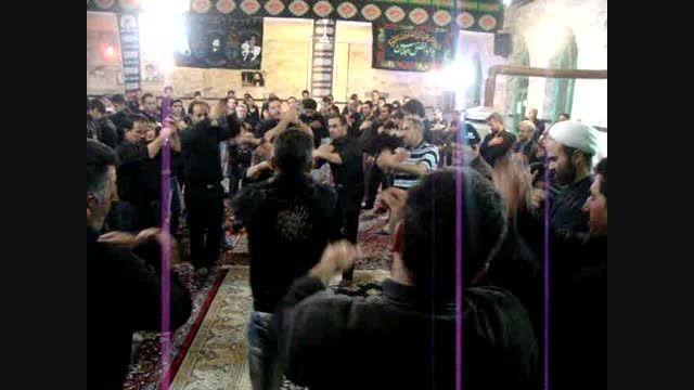 مداحی شب تاسوعای سال 91 مسجد سیدالشهداء کلنجین