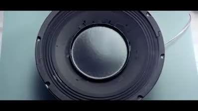 اثر شگفت انگیز موسیقی و موج صدا بر روی مواد را ببینید.