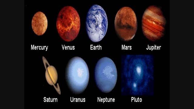 معرفی منظومه شمسی با یه اهنگ زیبــــا