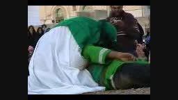 دیلم تعزیه شهادت علی اکبر(آمدن امام بر بالین جوانش)1385