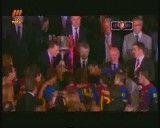 جشن قهرمانی بارسلونا در جام حذفی اسپانیا 2012