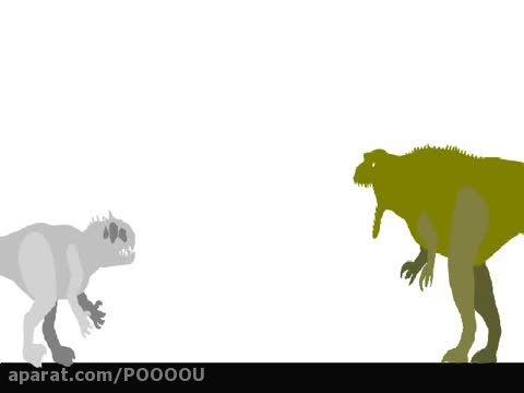 گودزیلا VS ایندومینوس رکس !