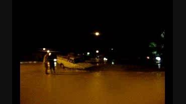 خَوَر فروی: اولین حادثه در شهر فرخی قبل از سیل اصلی
