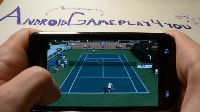 گیم پلی بازی اندرویدی Virtua Tennis™ Challenge
