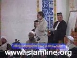سخنرانی شیخ محمد صالح پردل در مسجد امام ابوحنیف کشور تاجیکستان