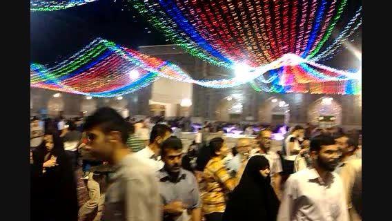 جشن عید سعید فطر در حرم امام رضا(ع)