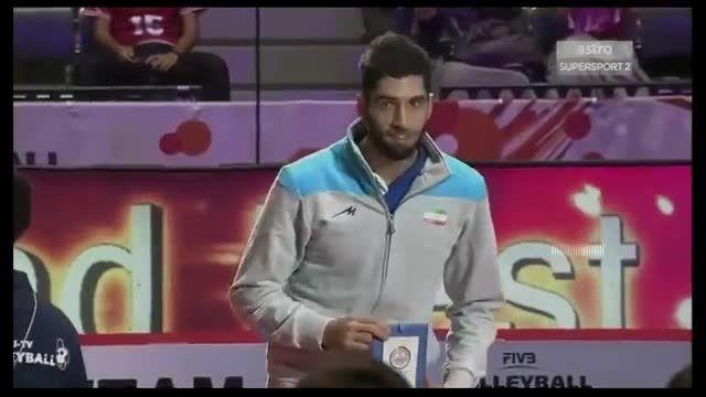 مراسم اهدای جام قهرمانی و جوایز بازیکنان جام جهانی ۲۰۱۵