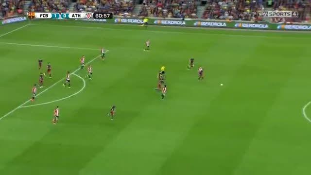 نیمه دوم بازی : بارسلونا 1-1 بیلبائو(سوپرکاپ اسپانیا)