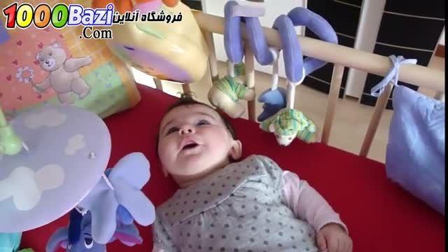 فیلم نوزاد و آویز تخت سقفی مدل پوه برند Tomy