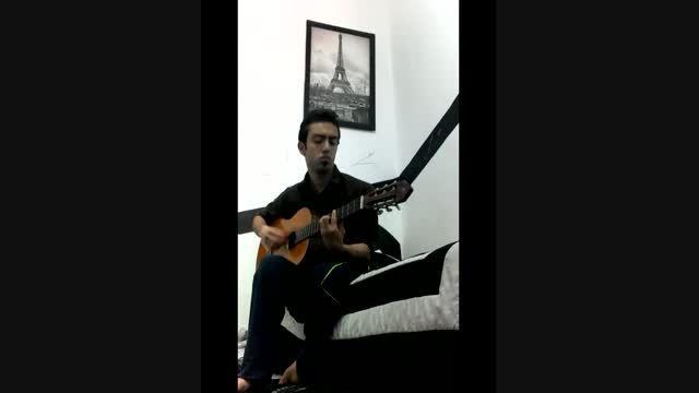گیتار زدن امیر شروین آهنگ بهنام صفوی