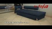 کاناپه تختخوابشو آرا - مدل G25 - سایت AraSofa.com