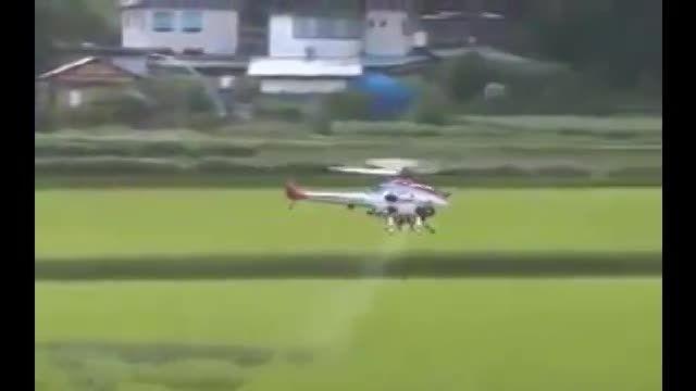 محلول پاشی با هواپیماهای سمپاش و ساختمان سمپاش هوائی