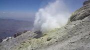 بخارات گوگردی قله دماوند