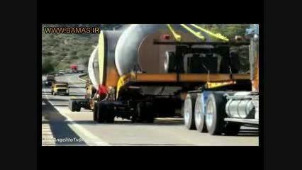 مهیب ترین حمل و نقل ها با کامیون های بزرگ در جهان