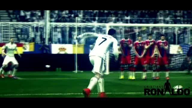 برترین گل ها و حرکات کریستیانو رونالدو در فیفا 15