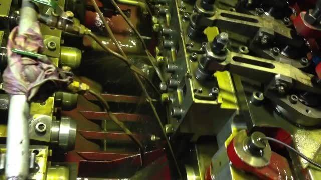 تولید پیچ در كارخانه پیچ اشپیل ایران