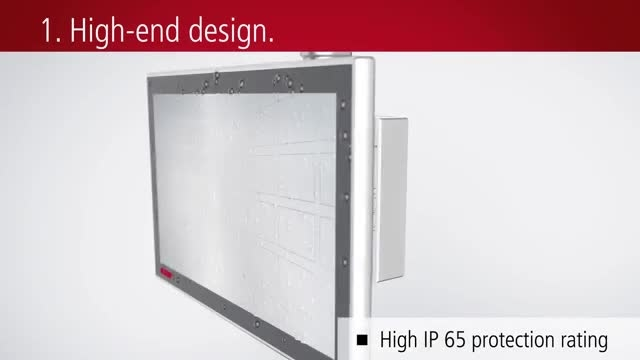 CP32 multi-touch Panel PC with high-end computing power